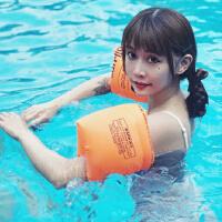 �W�游泳充�飧⌒�和�胳膊游泳圈水袖