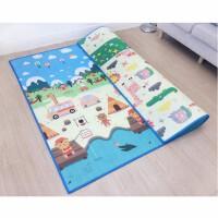 宝宝爬行垫加厚无味婴儿童客厅家用爬爬垫毯小孩泡沫地垫折叠大号