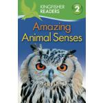 英文原版 儿童分级读物 Kingfisher Readers: Level 2: Amazing Animal Sen