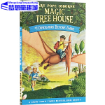 神奇树屋英文原版 1 Magic Tree House 恐龙谷大冒险 Dinosaurs Before Dark