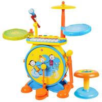 架子鼓玩具1-3-6�q初�W敲打�菲������琴爵士鼓�和�架子鼓