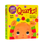 积木与夸克Baby Loves Quarks! 英文原版Baby Loves Science 宝宝爱科学系列 微观物理