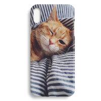 日系简约可爱小猫咪苹果XS Max iphone XR 6 7 8 plus手机壳