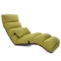 【优选】懒人沙发床单人榻榻米折叠椅地板床上靠背椅飘窗椅日式沙发
