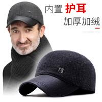 老人帽子男冬天棒球帽保暖中老年人男士爸爸爷爷鸭舌帽老头棉帽冬