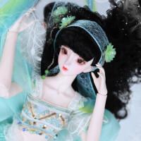 【2件5折】芭比娃娃 新年礼物 精品 德必胜娃娃 十二生肖系列60cm改装娃娃仿真玩具公主bjd换装洋娃娃 蛇-青蛇