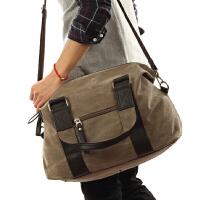 休闲手提包女款韩版 行李包 男包帆布包男士包单肩包大包旅行包