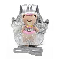 宝宝书包儿童防走失包1-3岁女孩包包小孩小熊婴儿背包幼儿双肩包