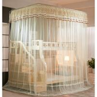 儿童双层床母床蚊帐上下铺柜梯高低床钓竿伸缩落架1.5定制