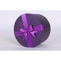 精美色圆形礼盒 纸盒子大量定制 花盒 鲜花包装盒大号礼品盒