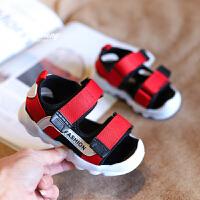 1-3岁男童婴儿凉鞋软底学步鞋夏季包头儿童沙滩鞋女宝宝鞋子