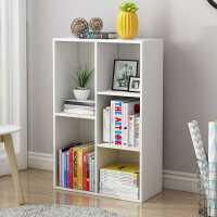 书架简约落地简约现代置物架收纳学生飘窗卧室小置物架儿童书柜子