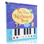 英文原版绘本 My First Keyboard Book 钢琴发声书 Usborne 儿童音乐互动书 音乐启蒙 钢琴