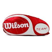 威尔胜(Wilson)网球拍包 TEAM BETTER系列网球包 三支装 六支装拍