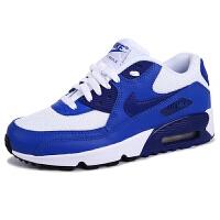【到手价:279.6元】耐克(Nike) 新款男女大童休闲运动跑步鞋气垫鞋 833418-105蓝色