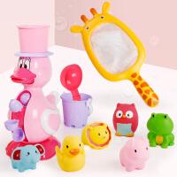 �和�洗澡玩具�������蛩�套�b小�S��子花�⒛信�孩1-2-3周�q抖音
