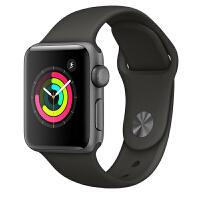 【当当自营】Apple Watch Series 3智能手表(GPS款 42毫米 深空灰色铝金属表壳 灰色运动型表带