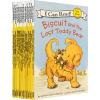 biscuit小饼干狗系列绘本原版英文书 My First I Can Read 第1阶段 18册 分级读物 幼儿启蒙认知亲子图画故事书