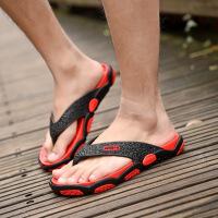 夏季男士拖鞋2019新款个性时尚沙滩鞋软底凉鞋潮凉拖人字拖男