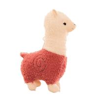 可爱神兽毛绒玩具公仔 羊驼毛绒玩具超大号抱枕女生日礼物