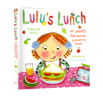 Lulus Lunch 露露的午餐 精装触摸操作书 幼儿启蒙 露露大明星系列 Lulu's Lunch 婴幼儿启蒙认知