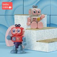 【��!限�r每�M100�p50】babycare�����C器人玩具男孩 1-2-3周�q�和�早教益智女孩人偶玩具