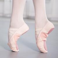 儿童女跳舞鞋软底练功鞋舒适透气宝宝小孩猫爪鞋