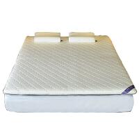乳胶床垫1.8m床榻榻米1.5米单双人加厚软硬两用学生宿舍定制垫子定制 乳胶针织床垫经典款 白色5cm