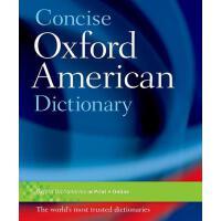【预订】The Concise Oxford American Dictionary