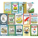 汪培�E第二阶段 英文原版 英文书单 I Can Read系列 5册 儿童绘本分级读物 Little Bear/Buzb