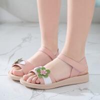 2019夏季新款韩版女童凉鞋中大童女孩沙滩鞋小公主宝宝儿童鞋软底鞋