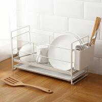 家用置物架餐具碗筷沥水架厨房小工具刀叉小百货多功能晾水收纳架