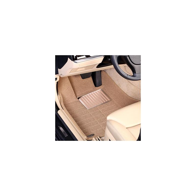 宇森卡诺珍珠绒 宝马1系 3系 5系 7系 X1 X3 X5 X6  汽车脚垫 奔驰B系 C系 E系 GLK ML S系全包围脚垫A1 Q3 A4L A6L A8L A7 Q5 Q7 Q6专车专用脚垫大全包围皮脚垫 绒面环保无味脚垫地毯【专车专用-环保无味】