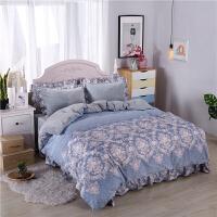 加厚保暖法兰绒四件套韩版珊瑚绒冬季1.8m床上用品法莱绒被套床单