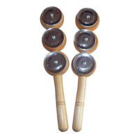 奥尔夫乐器 儿童音乐玩具 三铃棒镲