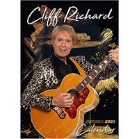 预订Cliff Richard 2021 Calendar - Official A3 Wall Format Cale