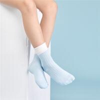 3双装都市丽人都市贝比儿童袜子秋冬新款3-5-7岁宝宝短袜9-12岁女童短筒袜大码袜子成人可穿