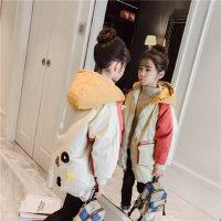 女童棉衣2018新款冬装儿童棉服中长款女孩棉袄中大童加厚外套洋气