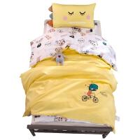 幼儿园被子三件套被套纯棉儿童六件套午睡被褥宝宝入园床品棉被芯 其它