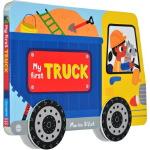 英文原版 交通工具 Whizzy Wheels: My First Truck 汽车绘本纸板书