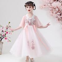 女童汉服连衣裙洋气纱裙夏装儿童裙子童装公主裙夏款