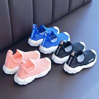 夏季女童网鞋透气网面镂空男童运动鞋儿童单网宝宝鞋子忍者鞋