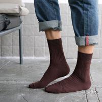 袜子男春秋冬款吸汗中筒袜百搭四季运动袜堆堆袜长袜子潮 均码