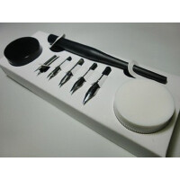 漫天牌 工具 套装 8件套 黑、白墨水/一杆/五尖 付外包装盒 套装