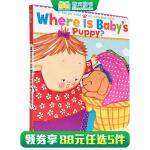 Karen Katz卡伦.卡茨 Where Is Baby's Puppy?A Karen Katz Lift-the