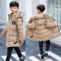 【反季】男童冬款棉衣加厚中长款儿童棉袄中大童男孩羽绒