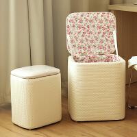 收纳凳子储物凳可坐多功能沙发凳玩具收纳整理箱换鞋凳收纳椅