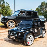 奔驰越野G55儿童电动车四轮玩具车可坐人小孩遥控汽车宝宝童车zf10