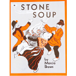 #英文原版获奖绘本 3 6岁 Stone Soup 石头汤 凯迪克大奖 汪培�E第2阶段 儿童英文读物故事书