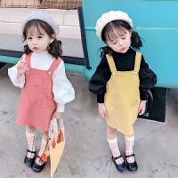 洋气女宝宝长袖秋装韩版两件套2019新款儿童小女孩女童套装